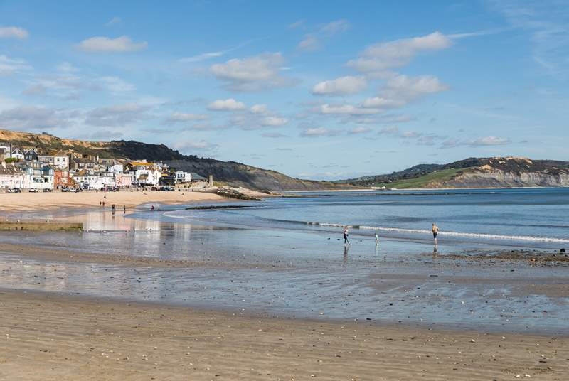 Hop in the car heading south west and you will reach Lyme Regis with its historic cobb and renowned eateries.