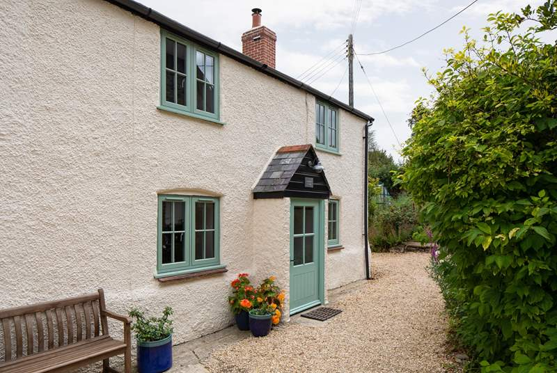 Gardener's Cottage is the largest of four at Dominey's Yard and at the end of the terrace.
