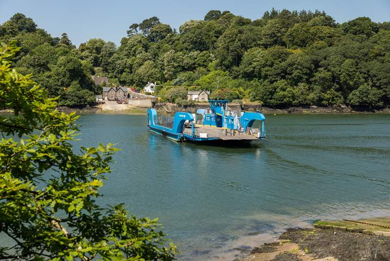 Fancy a day out further afield, take the King Harry Ferry to cross the River Fal.