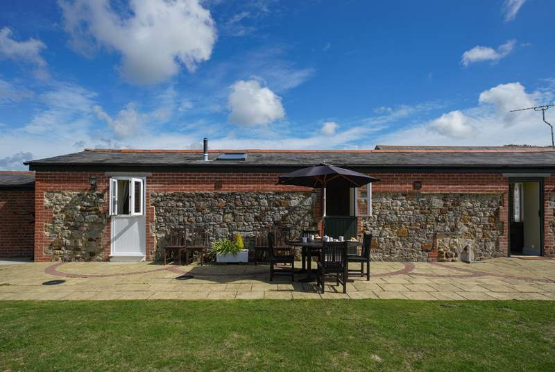 The Pigsty is a lovely barn conversion in the countryside near Shorwell Village.