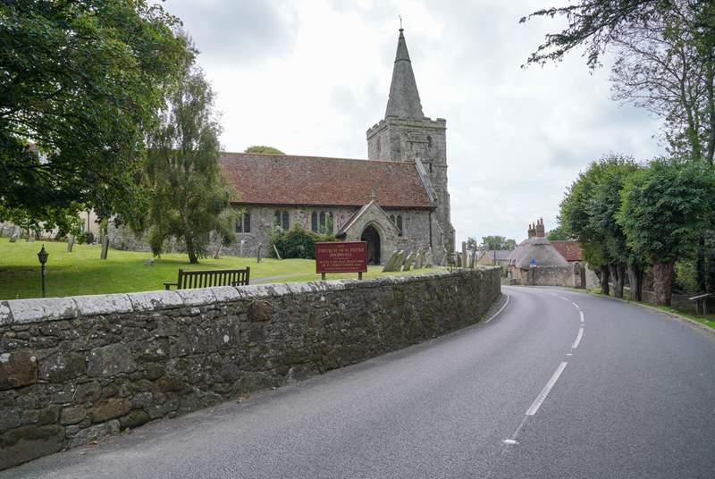 The quiet village of Shorwell.