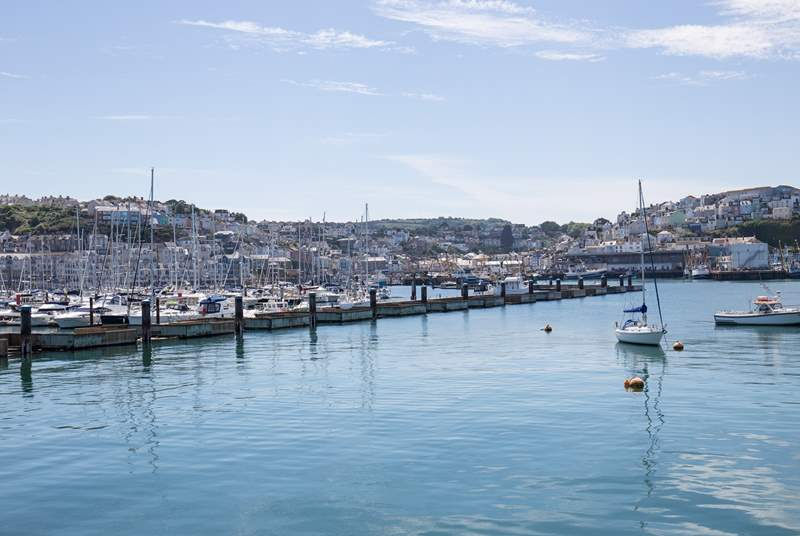Brixham harbour is simply stunning.