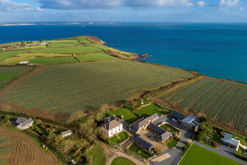 Roskorwell Manor is is an Area of Outstanding Natural Beauty which you can certainly see in this image.