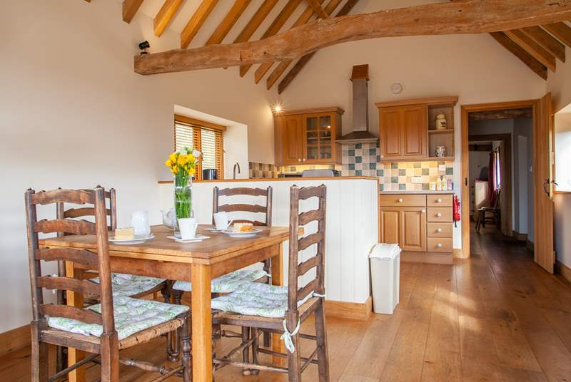 What a great space to sit and plan your next adventure in the East Sussex countryside.