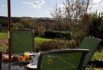 Relax in the garden to take in the views whilst listening to the bird song.