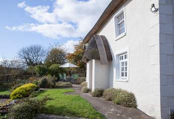 East Wells is located in a perfect village setting, tranquil and secluded.