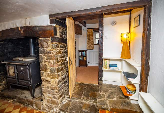 Please note that the ground floor landing is accessed via stone steps out of the kitchen.
