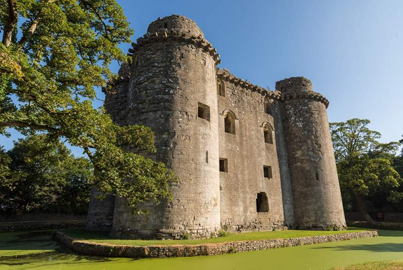 Nunney Castle, a hidden gem, is a 20 minute car journey away.