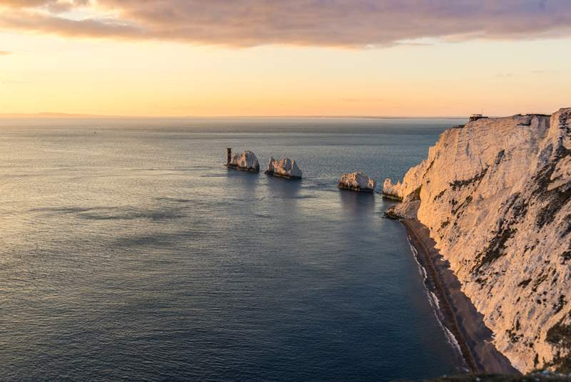 Why not head west and explore the famous Needles, a wonderful day out.