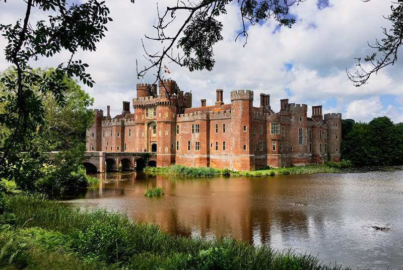 Visit Herstmonceux Castle Estate and enjoy woodland and the formal and themed gardens.