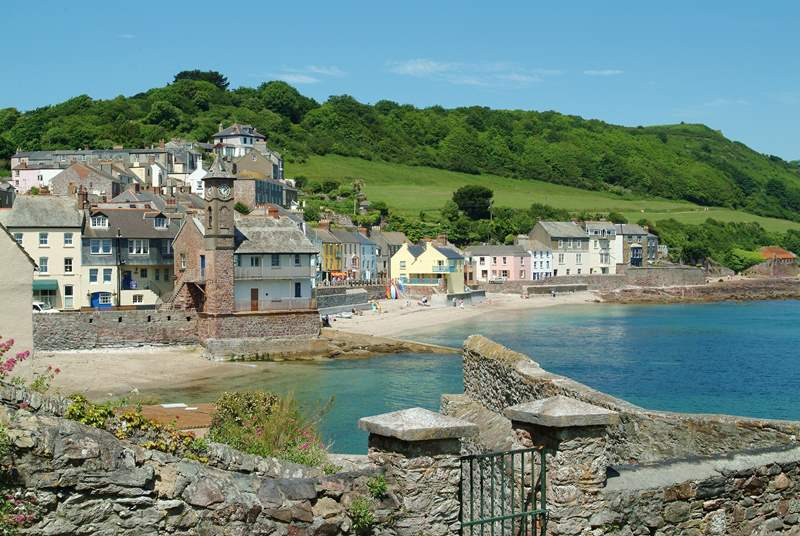 The twin villages of Kingsand and Cawsand.