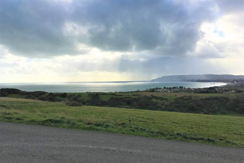 Take a stroll across Culver Down and admire the amazing scenic views. A very short drive away.
