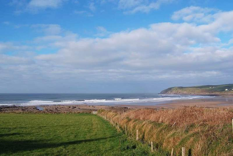 The north coast not only offers wonderful beach days but fantastic coastal walks.