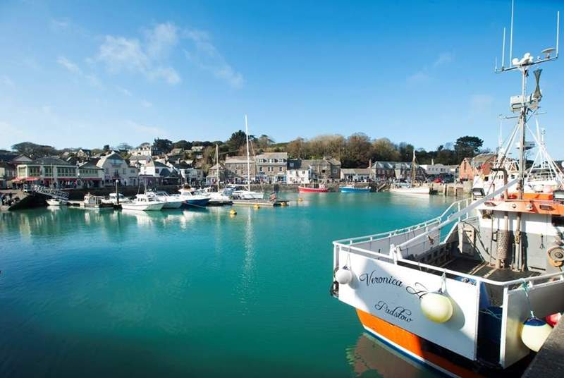 Venture further afield and enjoy Padstow - once you've been once you will always venture back.