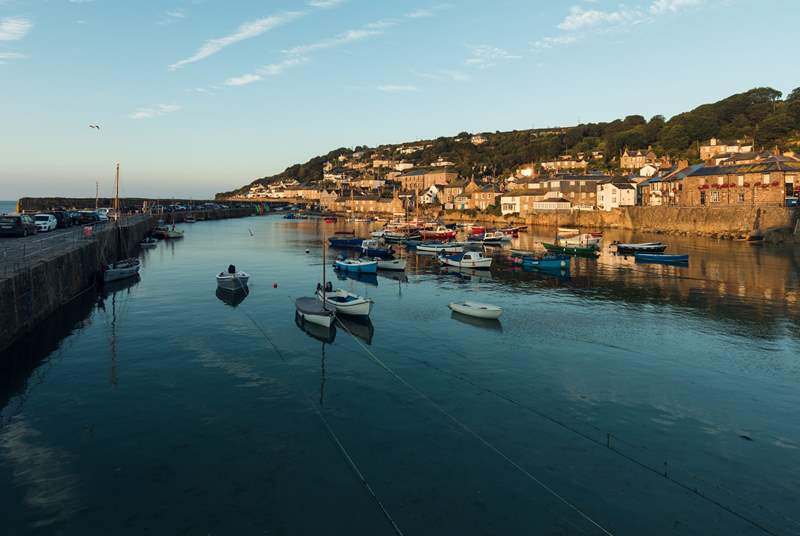 Mousehole harbour is well worth a visit.