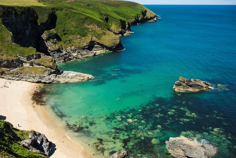 Make sure you pack your walking boots as the South West Coast Path is waiting to be discovered.