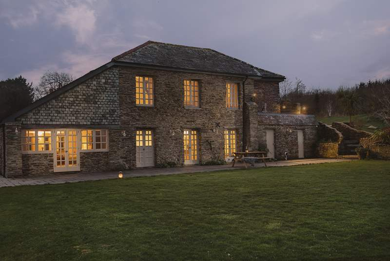 Welcome to Carthew Barn, nestled in the Cornish countryside.