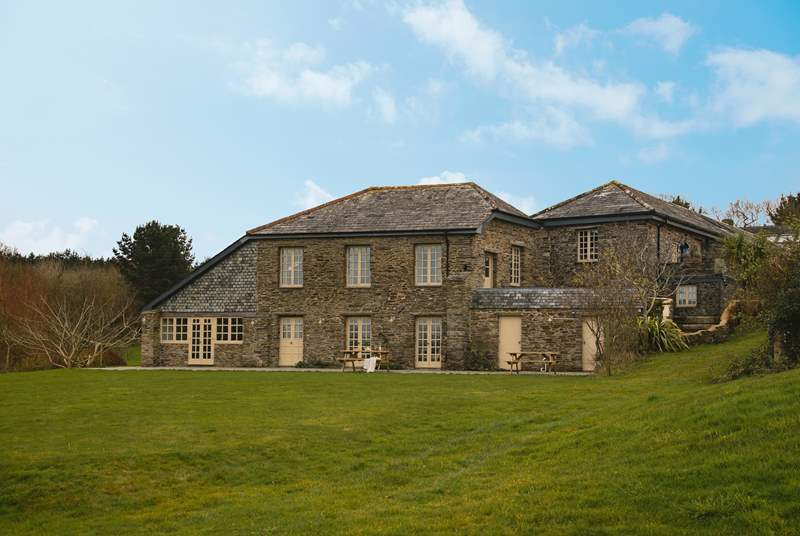Set in stunning countryside, Carthew Barn is a hidden gem.