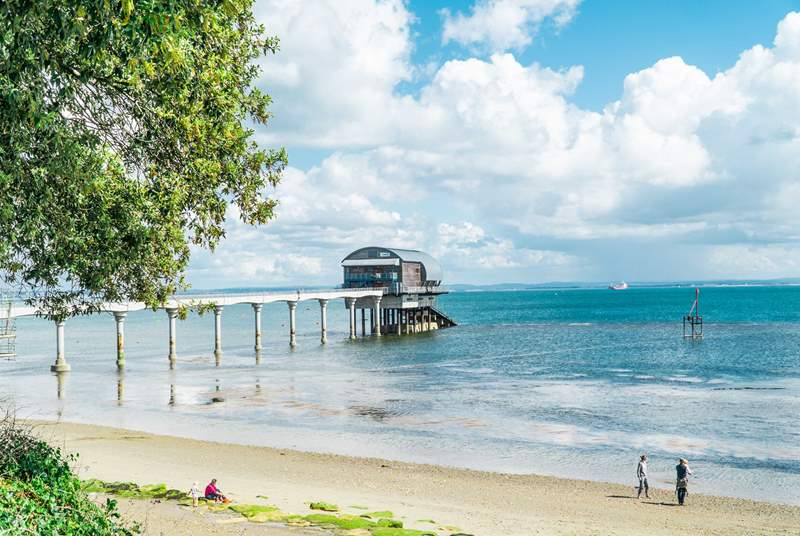 Bembridge is a short drive from Saye House.