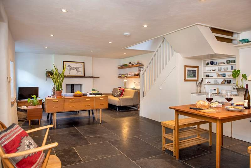 The open plan living-room will ensure you enjoy time together.