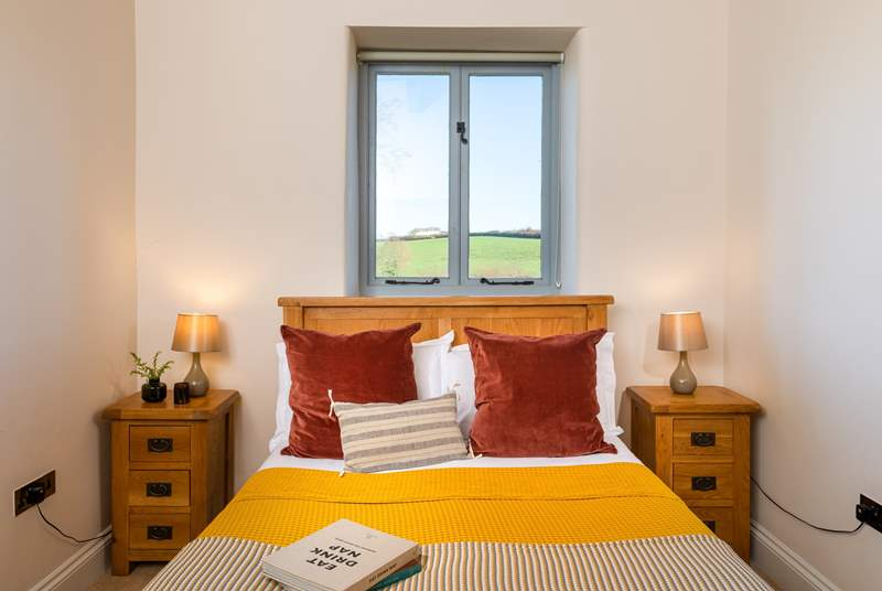 The main bedroom has a comfy double bed, there is also a stylish en suite Shower-room.