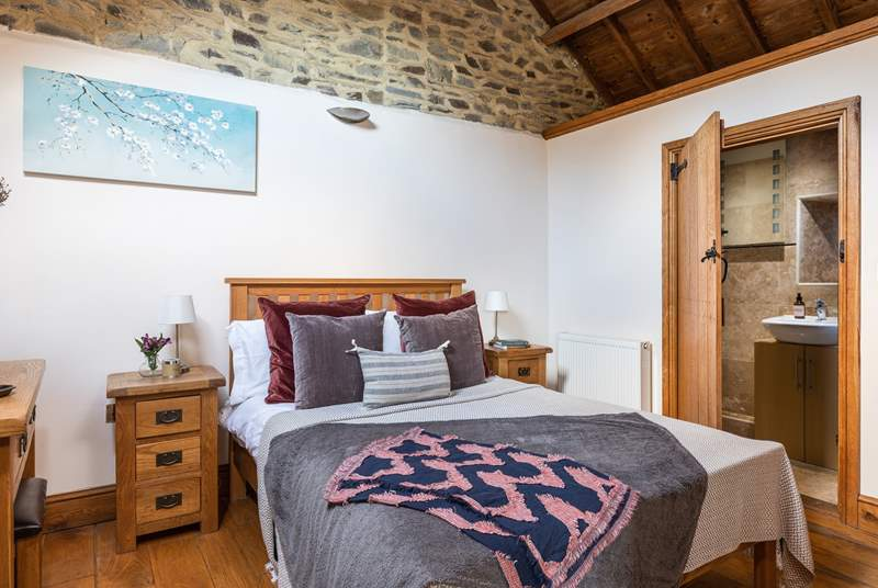 The main double bedroom again benefits from a conversion full of charm and character.