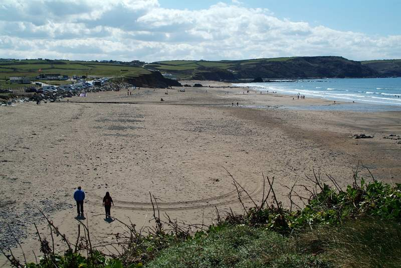 Head to Widemouth Bay or one of the many beaches along the north coast, you are spoilt for choice!