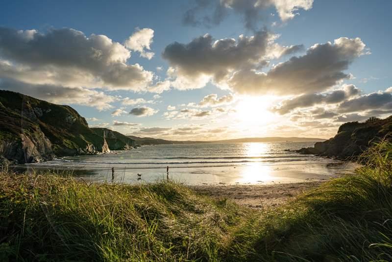 Take a stroll to idyllic Pwllgwaelod.