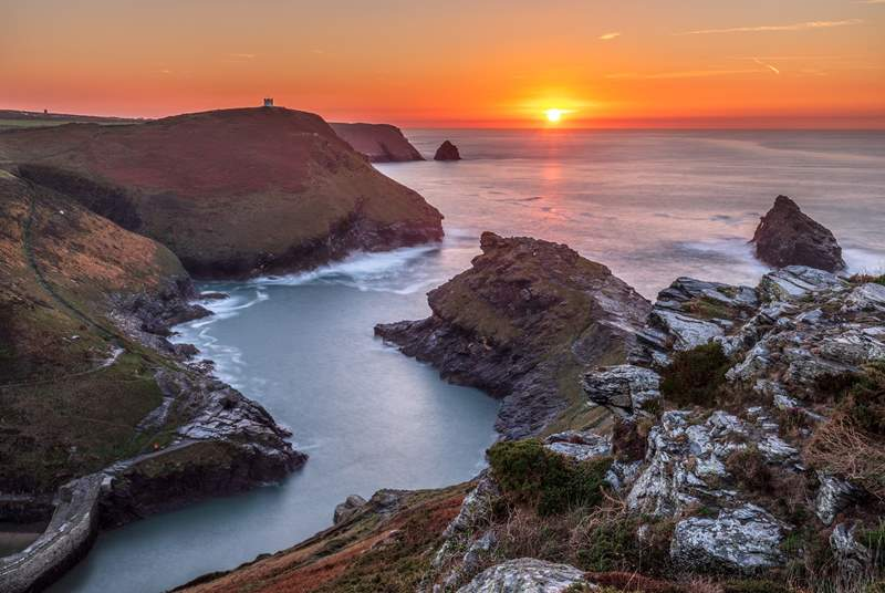 Bude will steal your heart! No matter the season sunsets will be a delight.