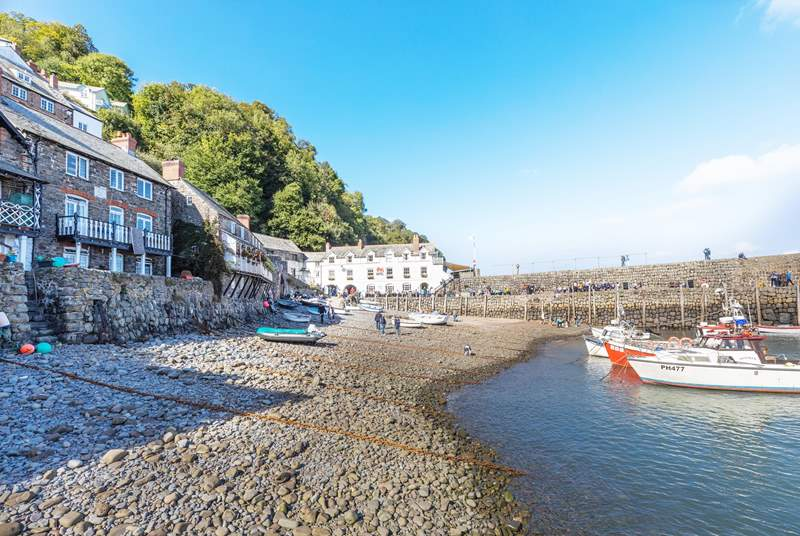 Clovelly is a lovely place to spend time relaxing.