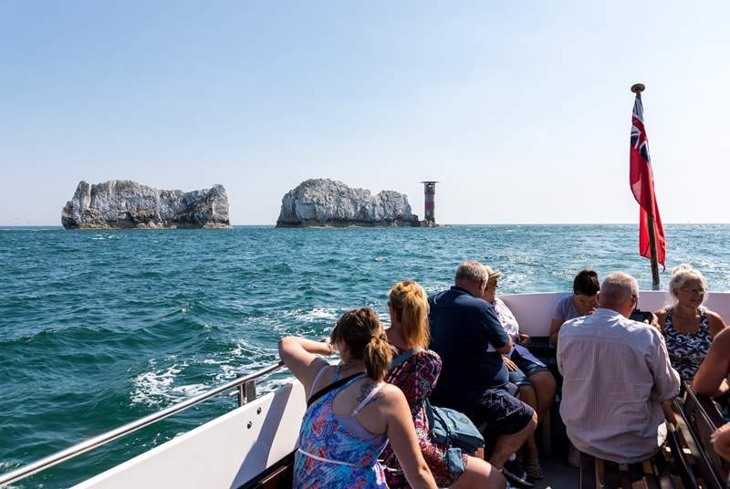 Visit the famous Needles, with boat trips on offer get even closer to the well known attraction.
