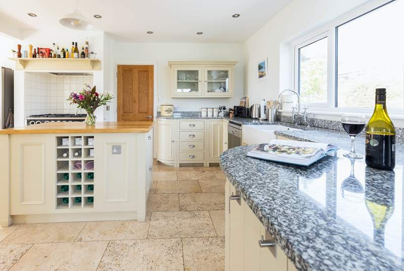 The sociable kitchen/diner has all you need to cook up a feast.