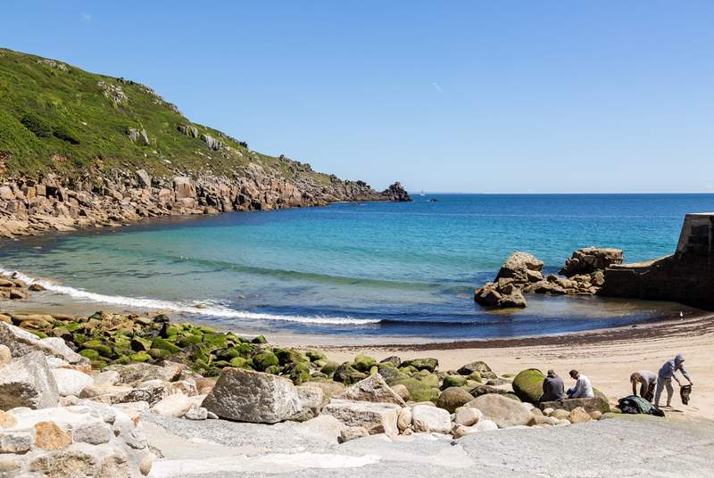 The coastal path from Mousehole to Lamorna Cove is one of the prettiest you will find anywhere in Cornwall.