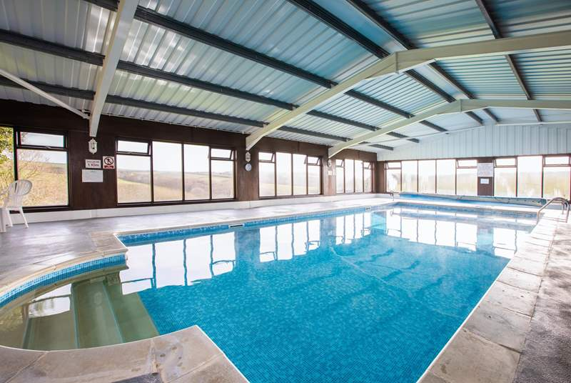 The amazing swimming pool is open all year come rain or shine.
