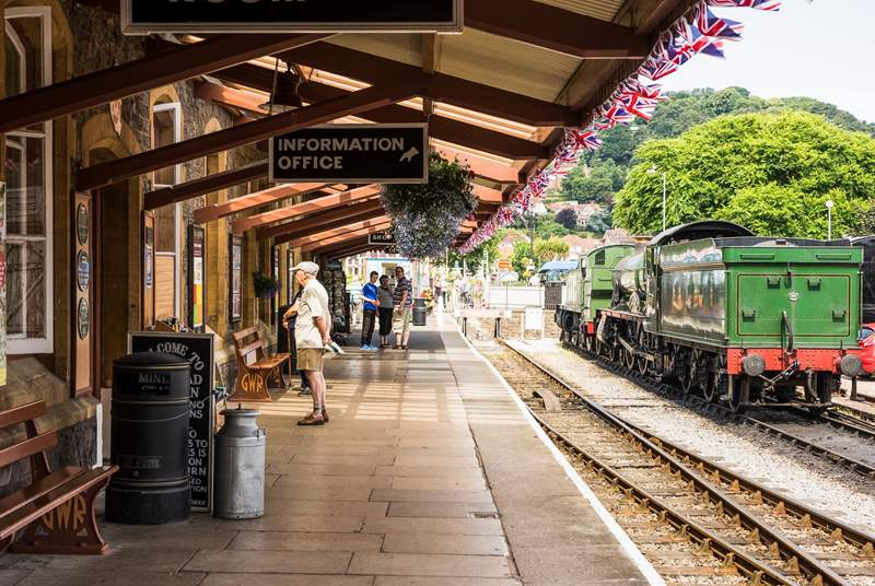 A trip on the West Somerset Steam Railway is a must!