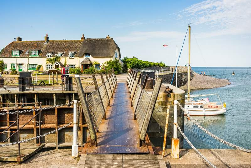 If you're looking to head to the sea then a visit to Porlock Weir will transport you back in time with gorgeous thatched cottages and peaceful places for a paddle.