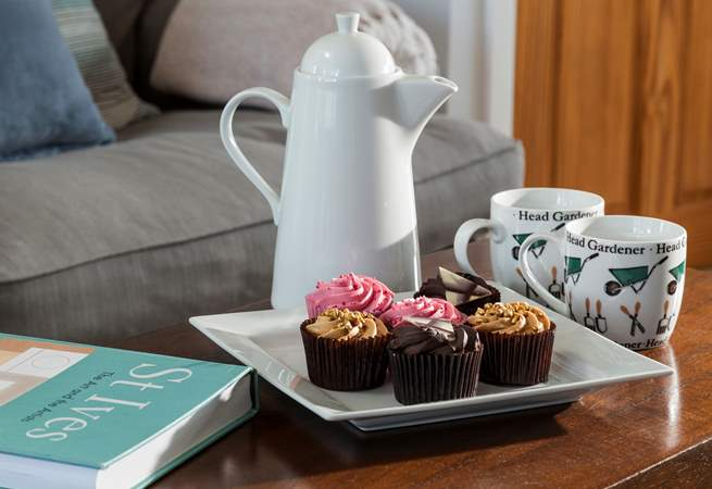 Time for tea and to plan your next adventure.