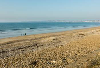 You will be spoilt for choice of beaches in this part of Cornwall, this is Marazion which is only a short drive away.