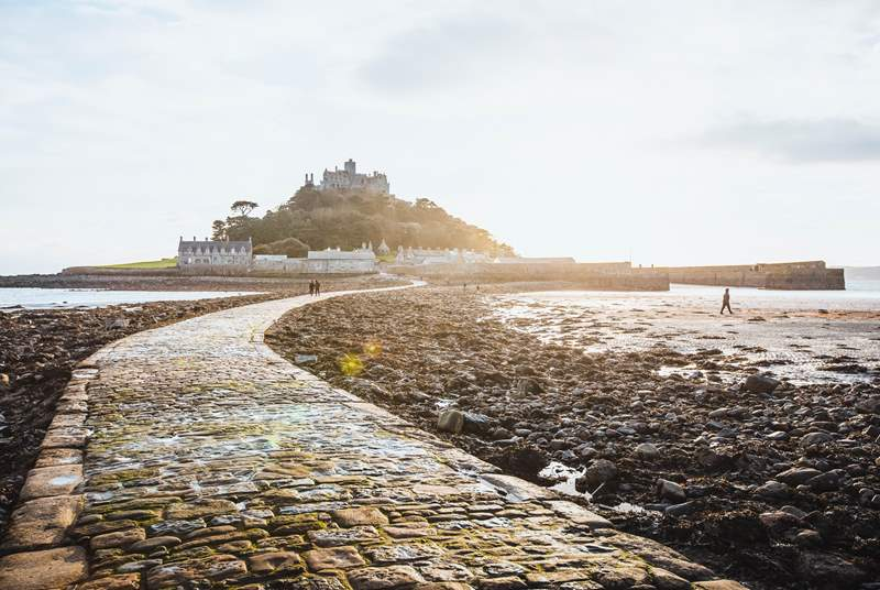 St Michael's Mount at nearby Marazion.
