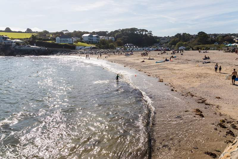 Take a walk to Swanpool beach which also has a beach cafe, water sports and a restaurant.