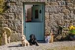 Two dogs are welcome to enjoy this lovely property, Benji the black lab will be on site to greet you.