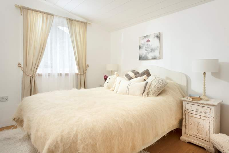 The three bedrooms are individually styled.