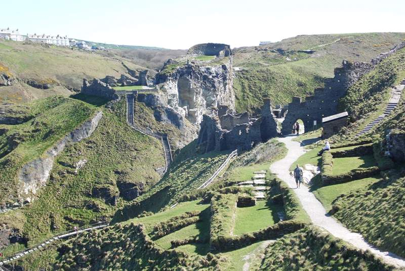 The nearby village of Tintagel is steeped in history and Arthurian legend.