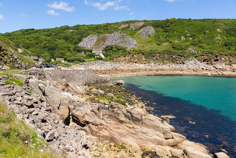 Lamorna Cove is a short walk away.