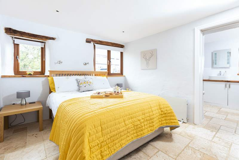 The gorgeous main room with en suite bathroom.