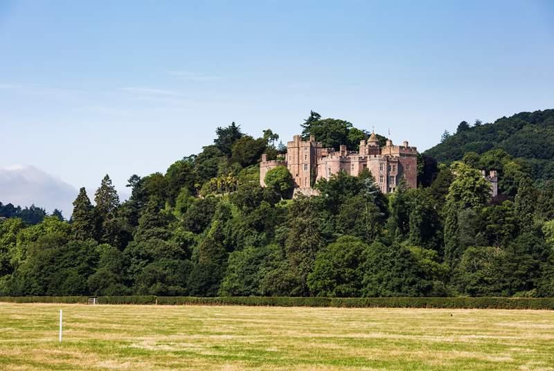Majestic Dunster Castle.