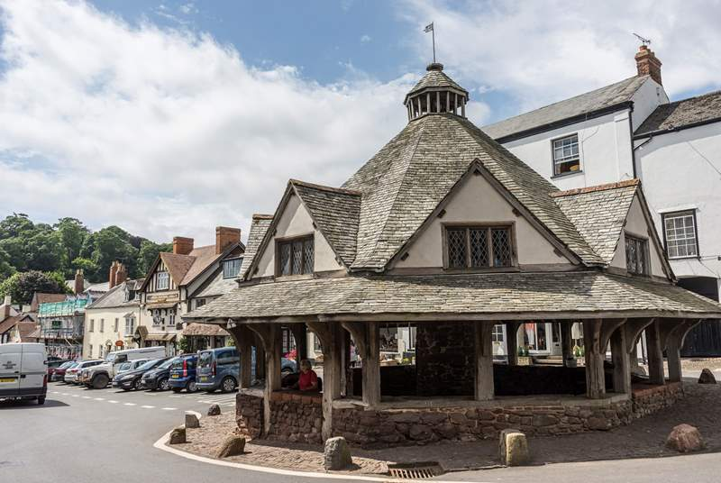 The pretty village of Dunster is waiting to be discovered.