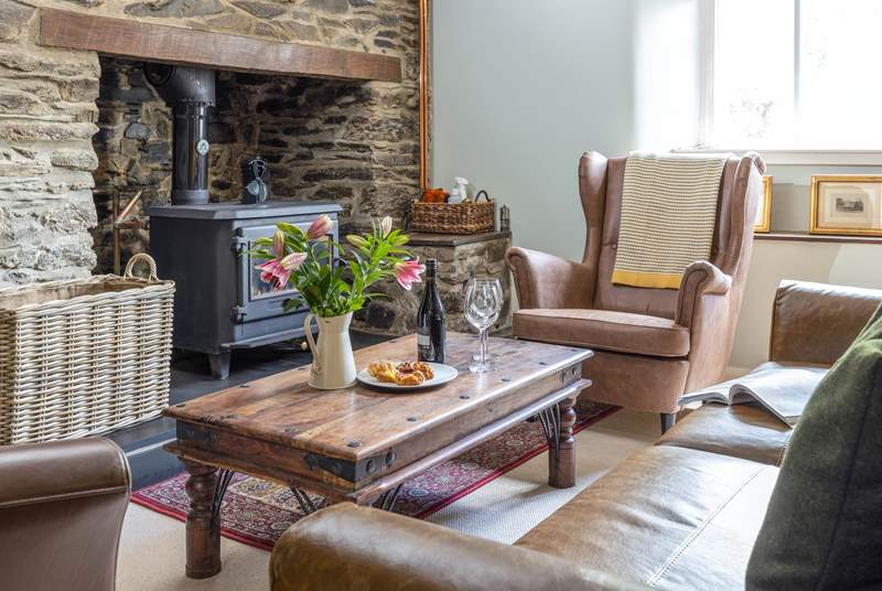 Light the wood-burner and snuggle up after a full and action-packed day.