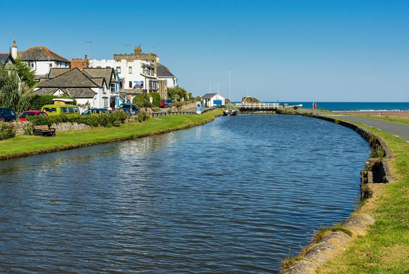 Why not cross the Cornwall/Devon border and visit Bude?