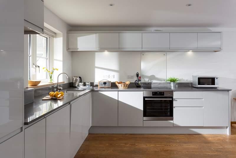 The fabulous kitchen.